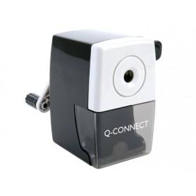 SACAPUNTAS SOBREMESA Q-CONNECT  CON  MANIVELA
