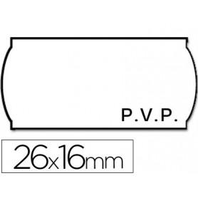 ROLLO ETIQUETAS METO 26X16 PVP (ADH.2)