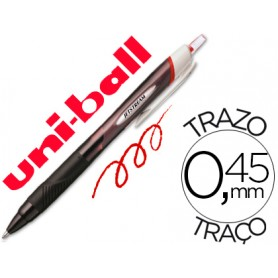 BOLIGRAFO UNI  JETSTREAM  RETRACTIL 1.0 ROJO