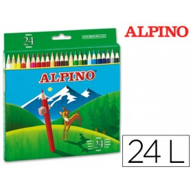 LAPICES DE COLORES ALPINO C/24