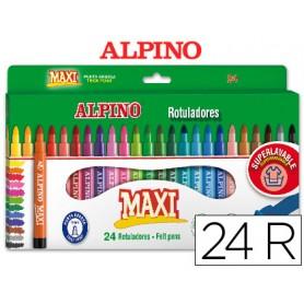 ROTULADOR ALPINO MAXI 24 UN.