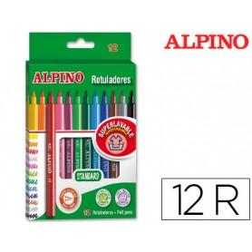 ROTULADOR ALPINO STANDARD 12 UN.