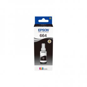 BOTE TINTA  EPSON L355/555 NEGRO ORIGINAL T6641