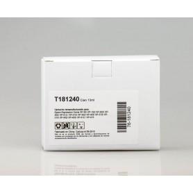 CARTUCHO DE TINTA  T1812 CYAN COMPATIBLE CON EPSON