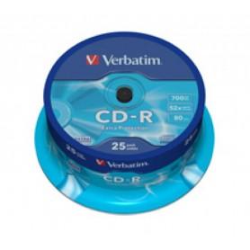CD-R VERBATIM PACK 25U