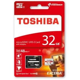 TARJETA MICRO SD TOSHIBA CLASS 10  32GB