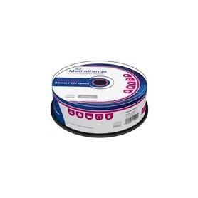 TARRINA CD-ROM MEDIARANGE  25UN.