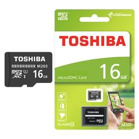 TARJETA MICRO SD TOSHIBA 16GB CLASS 10