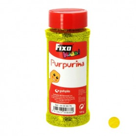 BOTE PURPURINA FLUOR AMARILLO FIXO KIDS