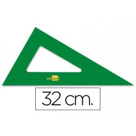 CARTABON 32CM ACRILICO VERDE SIN NUMERAR LIDERPAPEL