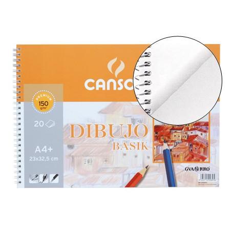 BLOCK DIBUJO CANSON A4 MICROPERFORADO 20H. 150GRS,