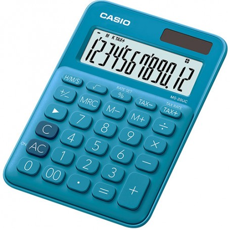 CALCULADORA CASIO MS 20NCBU AZUL