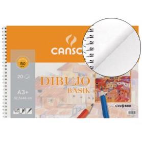 BLOC DE DIBUJO CANSON BASIK  A3