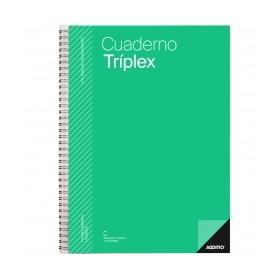 CUADERNO TRIPLEX ADDITIO PLAN CURSO EVALUACION CONTINUA PLANSEMANAL