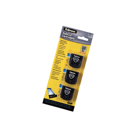 SET 3 TIPOS DE CUCHILLAS CORTES FELLOWES