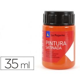 PINTURA LATEX LA PAJARITA NARANJA  35ML.