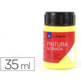 PINTURA LA PAJARITA AMARILLA 35 ML.