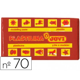 PLASTILINA JOVI 70 MARRON PEQUEÑA