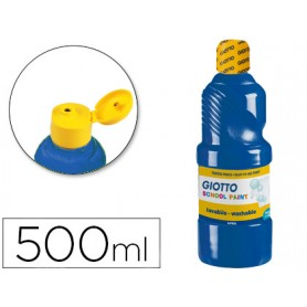 TEMPERA LIQUIDA GIOTTO 500ML AZUL ULTRAMAR