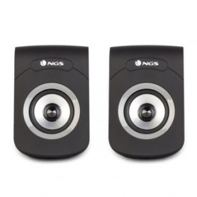 ALTAVOCES 2.0 6W USB COLOR NEGRO NGS