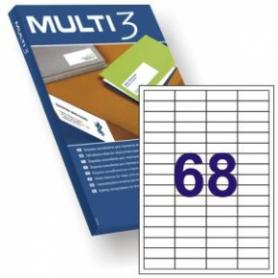 ETIQUETAS MULTI 3 48.5 X 16.9 500H.