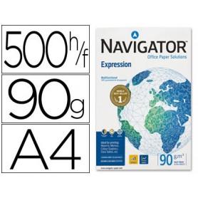 PAPEL A4 NAVIGATOR 90GR 500H.