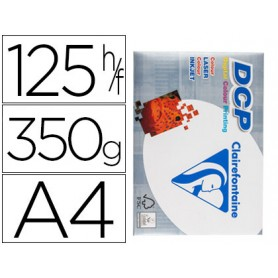 PAPEL A4  350 GRAMOS CLAIREFONTAINE 125H.