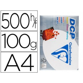 PAPEL A4 CLAIREFONTAINE 100GRS. 500U.