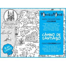 MAPA DEL CAMINO DE SANTIAGO
