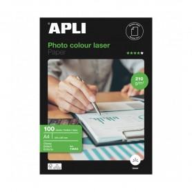 Papel fotográfico Colour Laser A4 210 g 100 hojas